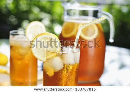 Iced Tea Outdoors