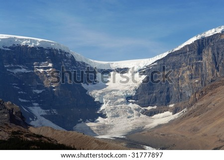 icefield - athabasca glacier, jasper national park, canada