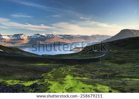 Iceland,/ East Fjords