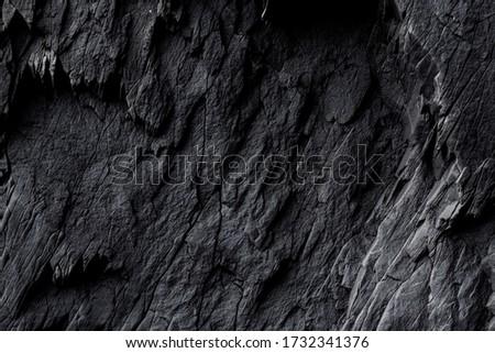 Iceland.  The texture of basalt rocks. Stock fotó ©