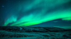 Icelandic Northen Light whit star