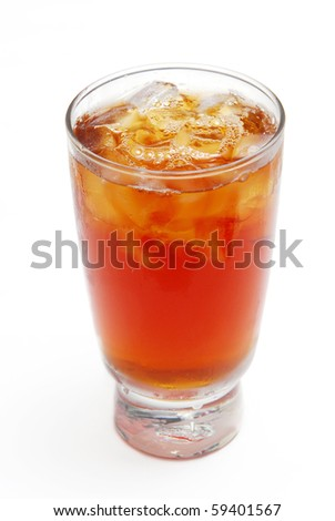 Ices the black tea