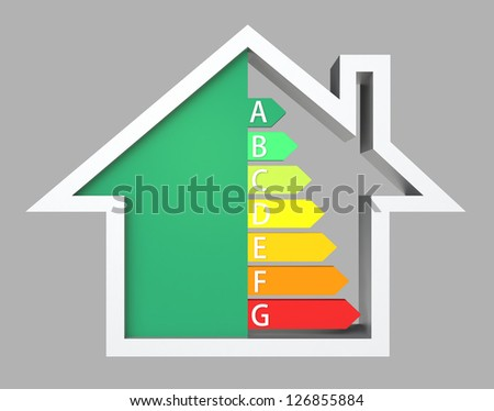 icon of energy efficiency house