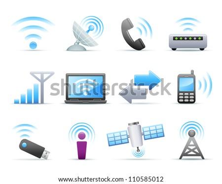 Icon Set - Communication