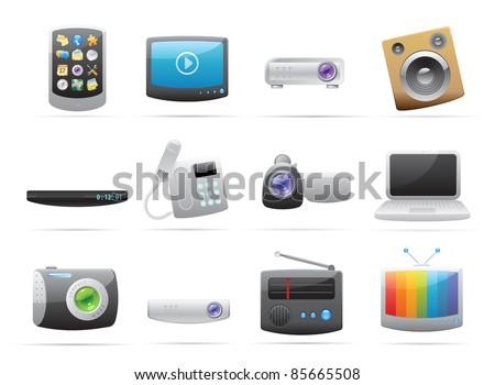 Icons for devices.