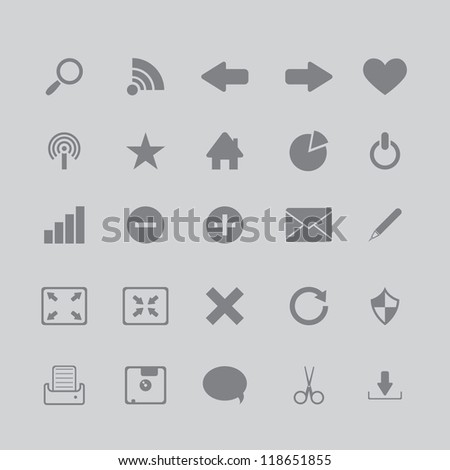 icons for the browser program