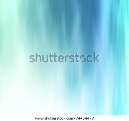 Icy blue transition abstract background