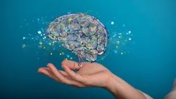 idea of intelligence brain ai digtal 3d artificial intelligence