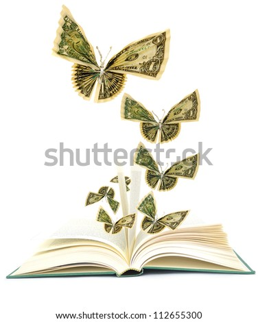 Idea of opening book on money butterflies