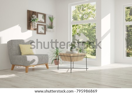 idea of white room with...