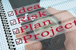 Idea, Risk, Plan, Project