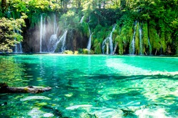 Idyllic placein the National Park in Croatia