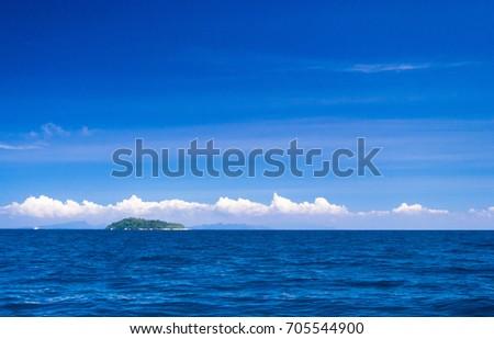 Idyllic Seascape Exotic Getaway  #705544900