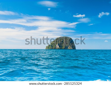 Idyllic Seascape Sea Scene