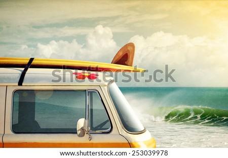 idyllic surfing way of life...