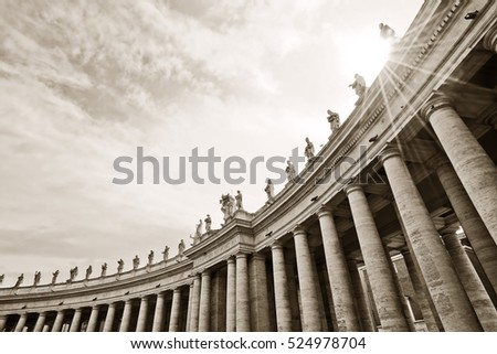 iew of the st. peter's basilica ...