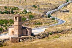 Iglesia de la Vera Cruz is a catholic church in Segovia, Spain