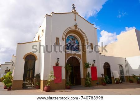 Shutterstock Iglesia de San Miguel Church in Cozumel Mexico