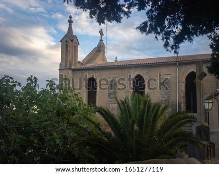 Iglesia de Transfiguración del Señor in the Spanish town of Arta on the mediterranean island of Majorca (Mallorca) Foto stock ©