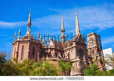 Shutterstock Iglesia del Sagrado Corazon (Sacred Heart Church) better known as the Church of the Capuchins is located in the city of Cordoba, Argentina.