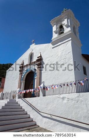 Shutterstock Iglesia San Pedro on Panamas Isla Taboga is the second oldest church in the Western Hemisphete