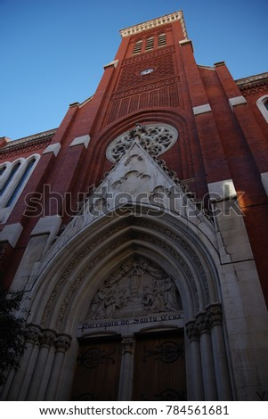 Shutterstock Iglesia Santa Cruz, Madrid, Spain