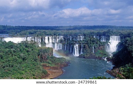Iguacu Falls National Park, Cataratas del Iguazu, Subtropical Rainforest, Brazil side