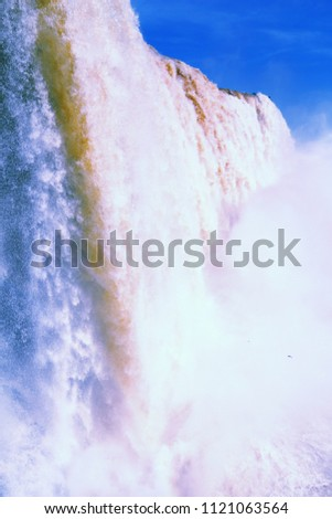 iguazu falls national park in...
