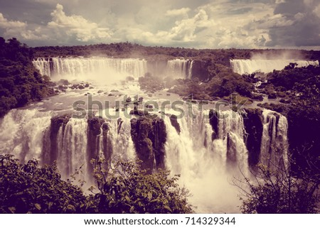 iguazu falls national park....