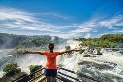 Iguazu falls, 7 wonder of the world in  Argentina