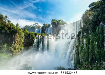 Shutterstock Iguazu falls, 7 wonder of the world in - Argentina