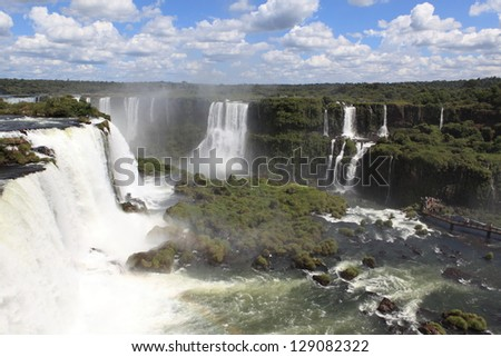 Iguazu Waterfall Brazil