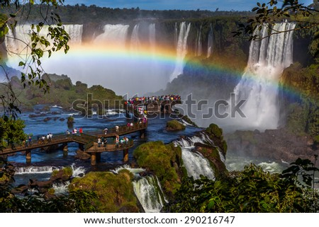 Shutterstock Iguazu waterfalls