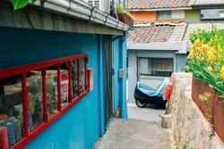 Ihwa Mural Village in Seoul, Korea