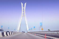 Ikoyi bridge Lagos Nigeria