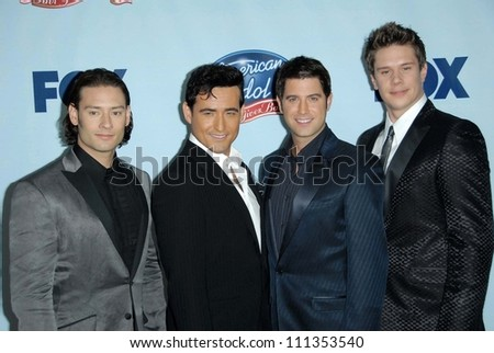 """Il Divo at the American Idol: """"Idol Gives Back"""" Historic TV Event. Walt Disney Concert Hall, Los Angeles, CA. 04-25-07"""