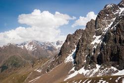 Ile Alatau Kazakhstan Mountains landmarks