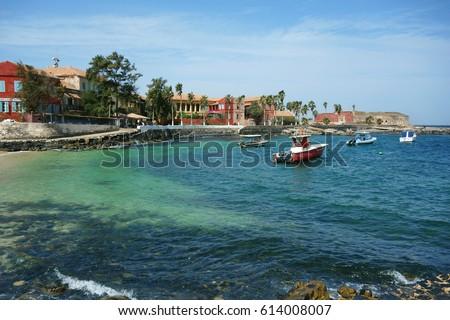 Ile de Goree Island, one of the earliest European settlements in Western Africa, Dakar, Senegal #614008007