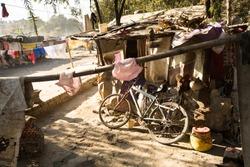 Illegal poor houses in Kathmandu valley