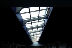 Illuminated light through skylight roof