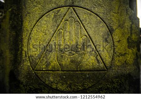 Illuminati Symbol in Edinburgh Cemetery