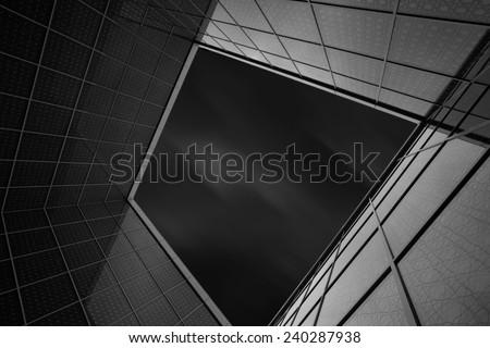Illumination.  Cool building in Toronto, Ontario, Canada.