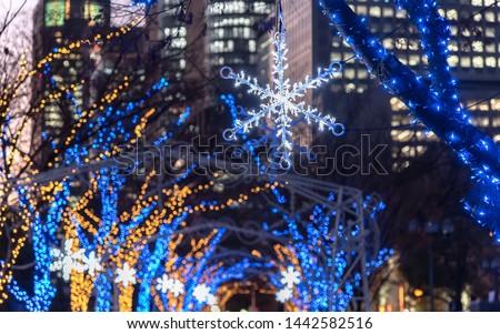 illumination event festival in the city #1442582516