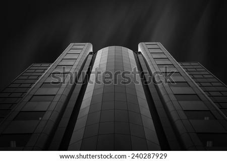 Illumination II. Cool office building in Toronto, Ontario, Canada.