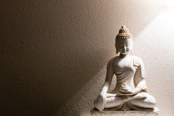 Illumination of Buddha - peaceful mind