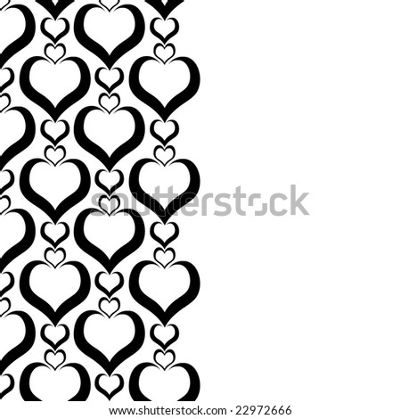 black and white photography love heart. stock photo : Illustrated love