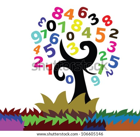 Illustration - A number tree.