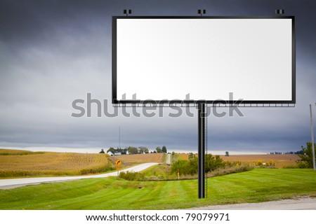 Illustration: Big Tall Billboard on road