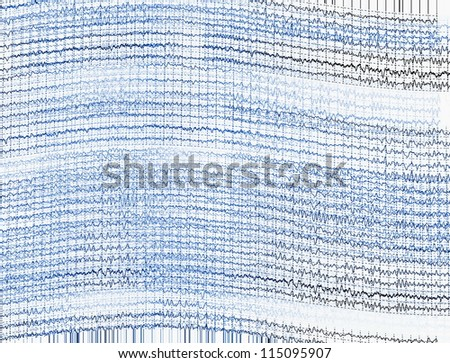 Background Brain Waves Illustration Brain Waves