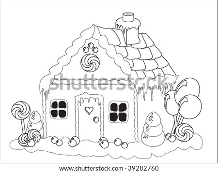 Free gingerbread man coloring pages Download